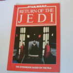 Star Wars Return of the Jedi Storybook of the film 1983 Oringinal softback @sold@